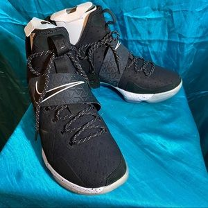 Nike LeBron XIV (14) Black/White, Size 11
